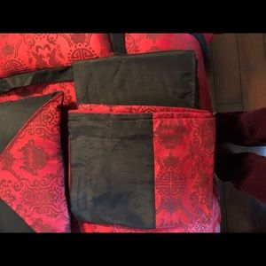 Other - Asian Chinese inspired Red Queen Bedspread Set